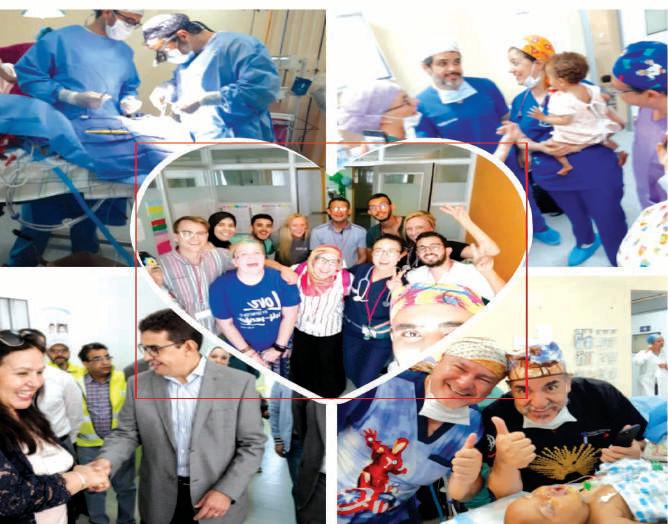 Près de 190 enfants opérés dans le cadre de l'opération Smile