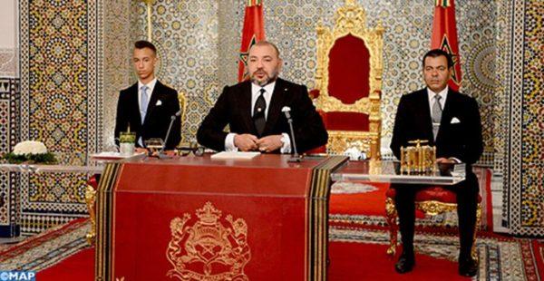 Fête du Trône : Discours de SM le Roi