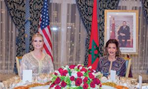 SM le Roi offre un dîner en l'honneur de Mme Ivanka Trump