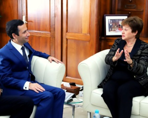 Rencontre entre Georgieva et Benchaâboun