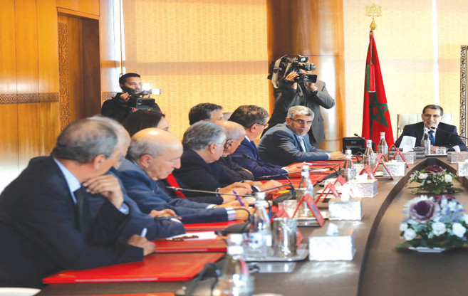 Les partis politiques reçus par El Othmani