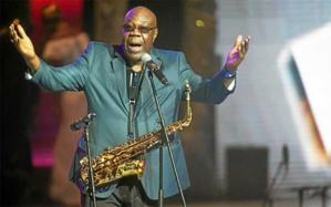 Manu Dibango, virtuose du Saxo