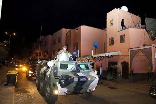 A Marrakech les autorités veillent au respect strict de l'état d'urgence sanitaire
