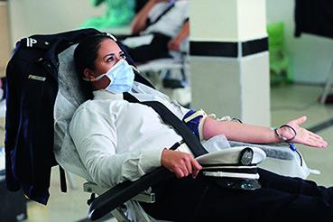 DGSN, don de sang et don d'exemple
