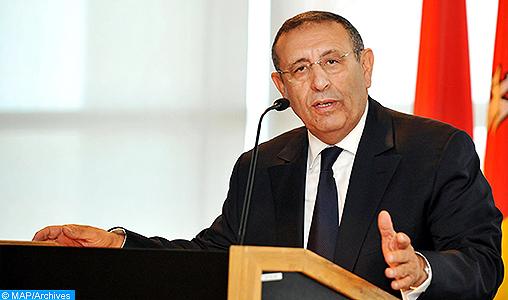Youssef Amrani, ambassadeur du Maroc en Afrique du Sud