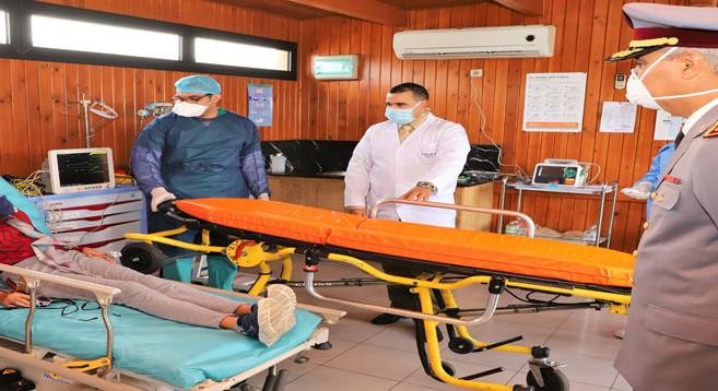 La médecine militaire se joint à la lutte