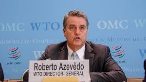Roberto Azvêdo, Directeur Général de l'OMC
