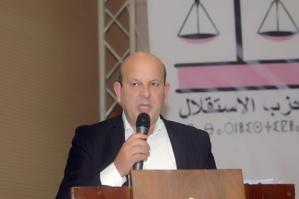 Abdeljabbar Rachdi, membre du Comité Exécutif de l'Istiqlal