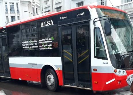Alsa dénonce la dégradation de ses bus à Casablanca