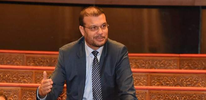 Rahhal El Makkaoui, conseiller de l'Istiqlal et président de la commission des finances.