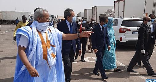 Covid-19 : Des facilités aux routiers marocains pour approvisionner le marché mauritanien