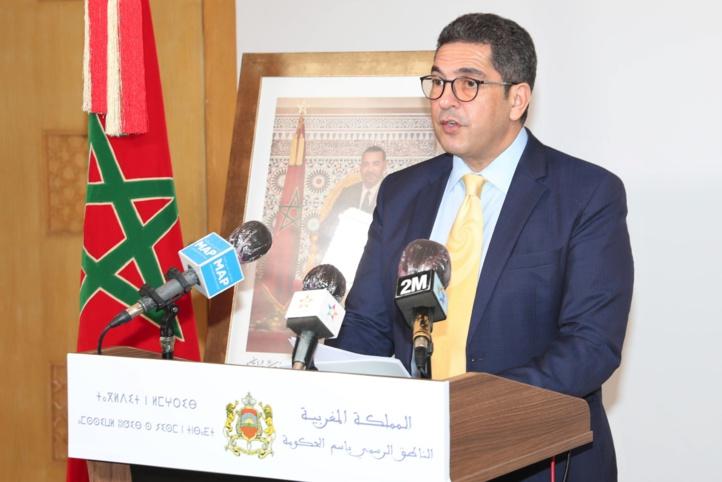 Point de presse du porte-parole du gouvernement Saaïd Amzazi, à l'issue de la réunion du Conseil du gouvernement