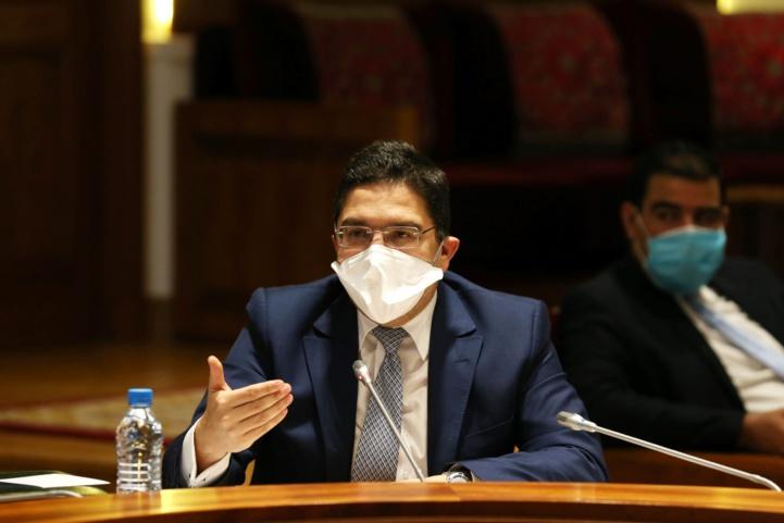M. Bourita s'exprimant à la Chambre des représentants sur la situation des marocains bloqués à l'étranger
