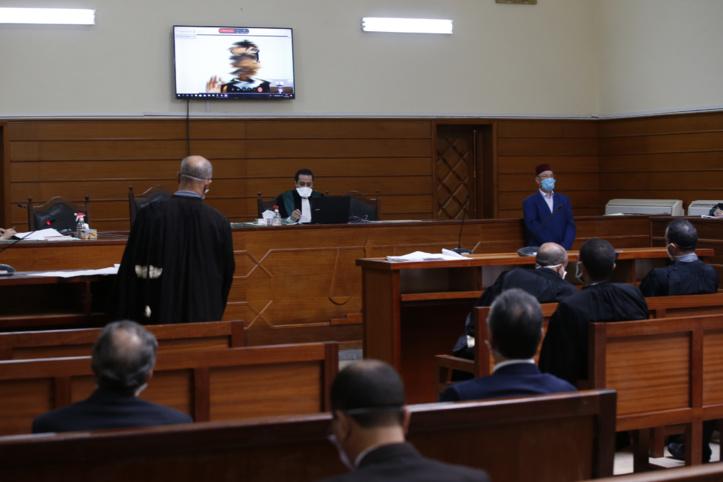 Première audience à distance au tribunal de première instance de Salé