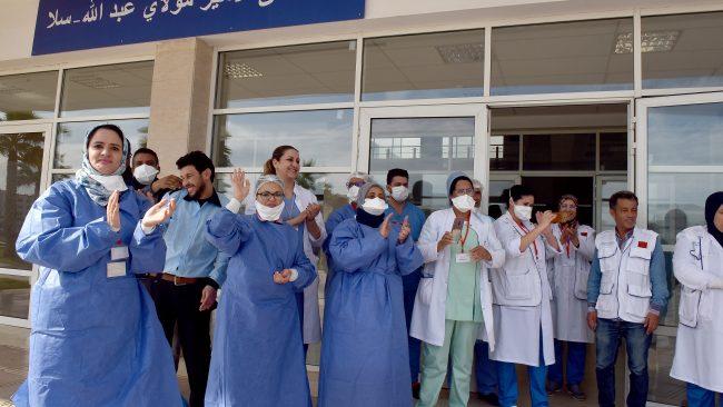 Compteur coronavirus : Le Maroc dépasse le cap des 2000 guérisons