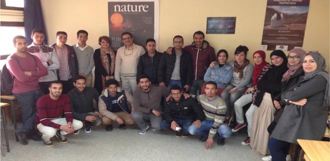 Astrophysiciens marocains
