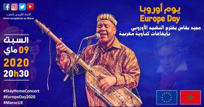 Journée de l'Europe : L'hymne à la joie revisité sur des airs Gnaoui