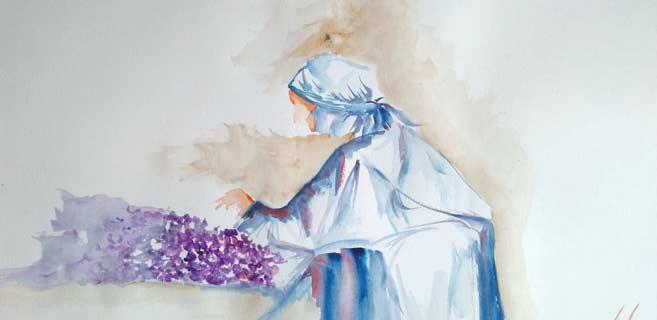 El Jadida : Challenge d'un artiste peintre