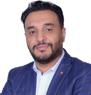 Hadj Chafiq, Coordinateur du Parti de l'Istiqlal Europe.
