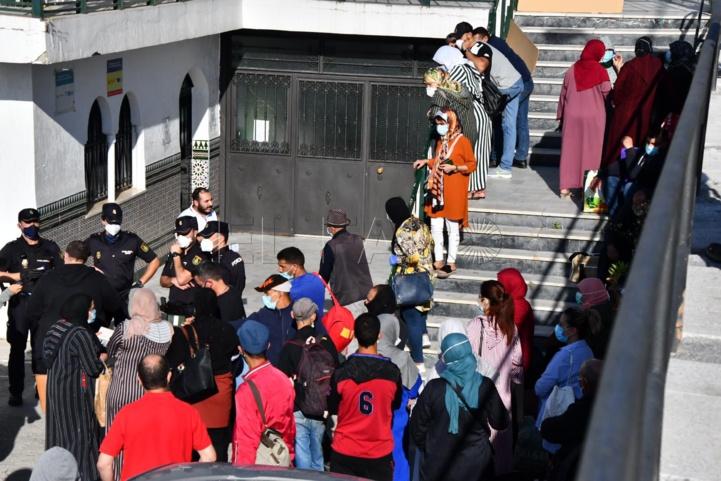 Sebta : début du rapatriement des Marocains bloqués