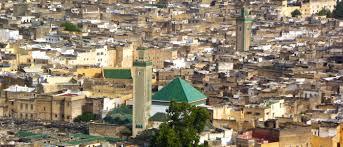 Vue panoramique de la médina de Fès, l'une des plus peuplées au Maroc
