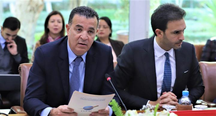 Chakib ALJ et Mehdi TAZI respectivement Président et Vice-Président de la CGEM