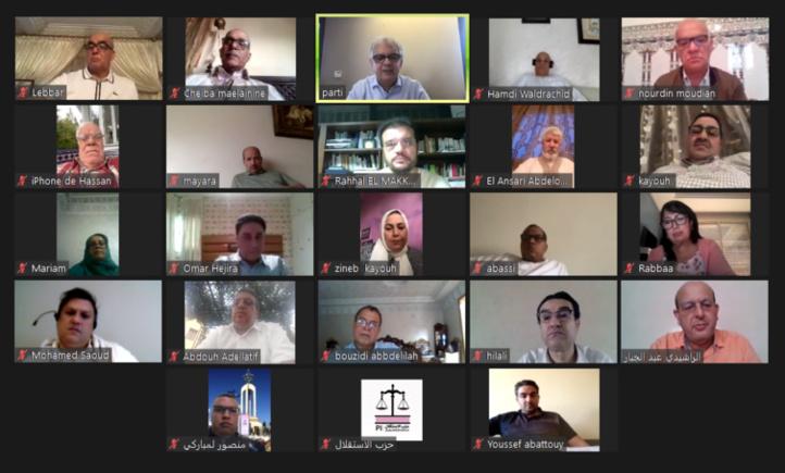 Comité Exécutif : L'Istiqlal sur le front post-Covid-19