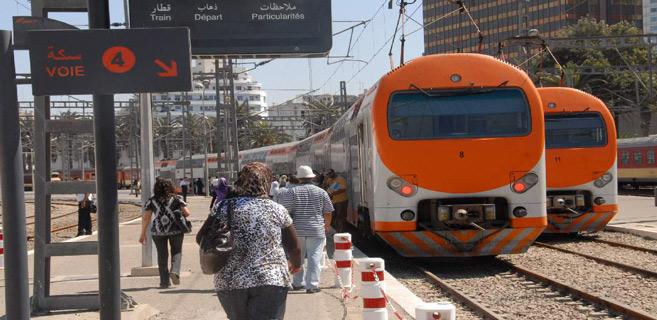 Transport : L'ONCF annonce le retour progressif du trafic ferroviaire