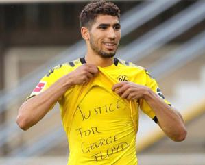 Allemagne : les hommages des footballeurs à Floyd passibles de sanction