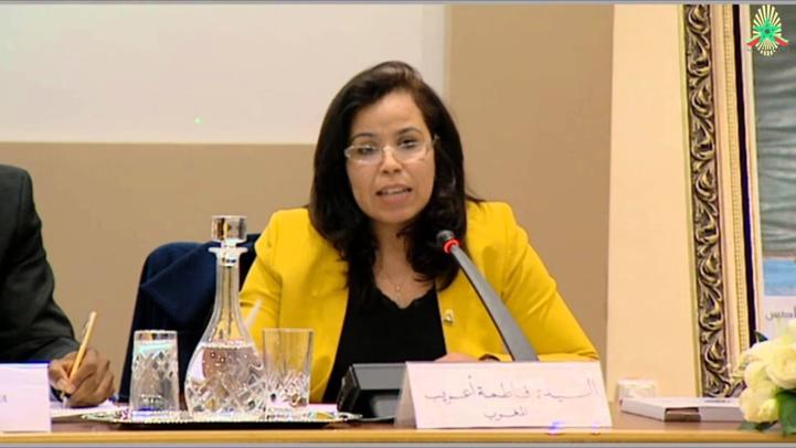 Fatima ARIB, Directrice de l'ENCG Marrakech et d'ACISS.