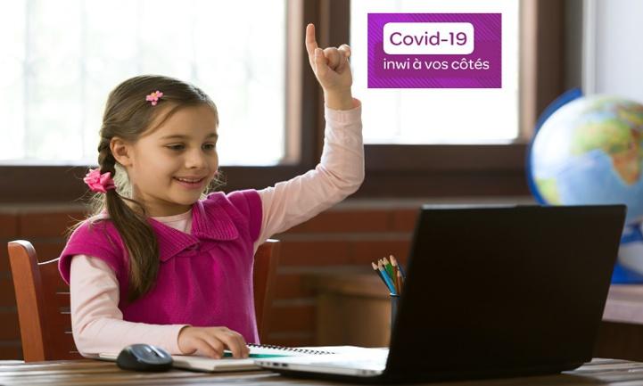 Inwi offre aux élèves l'accès gratuit à la plate-forme «TelmidTICE»