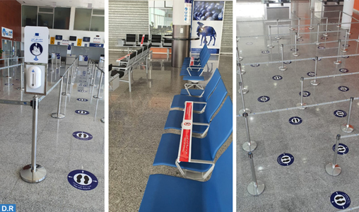 Reprise des vols : l'aéroport Chérif Al Idrissi d'Al Hoceima à pied d'œuvre