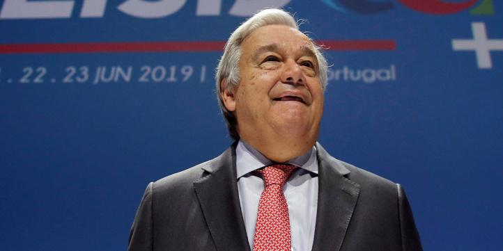 António Guterres, Secrétaire général des Nations Unies.