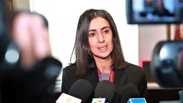 Nadia Fettah,  ministre du Tourisme, de l'Artisanat, du Transport Aérien et de l'Économie Sociale.