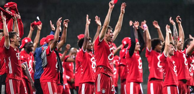 Football : Le Bayern Munich champion de la Bundesliga