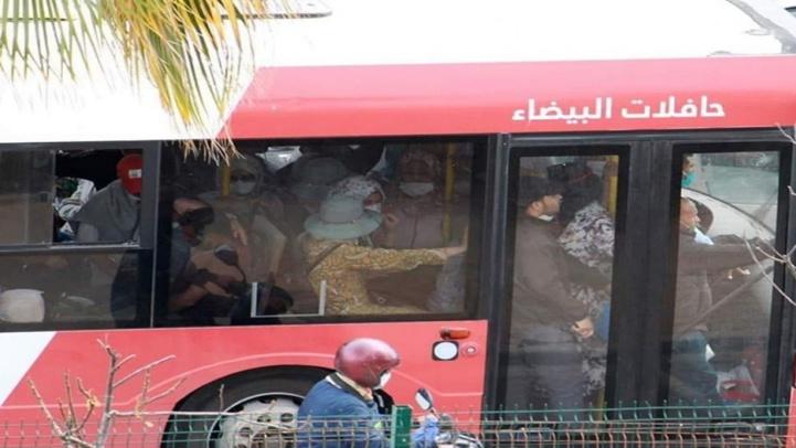 Etat d'urgence sanitaire : Un bus bat son plein à Casablanca