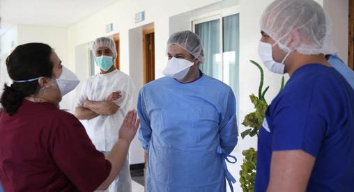 Béni Mellal : Aide psychologique au personnel soignant