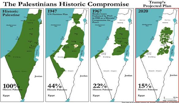 La Palestine, de l'Histoire au projet de Trump.