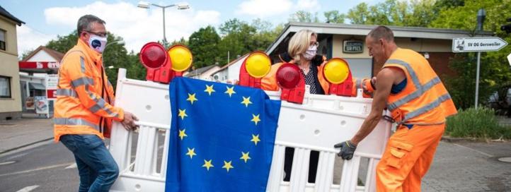 Hésitations sur l'ouverture des frontières européennes