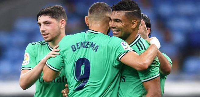 Liga : Benzema ouvre la voie du titre au Real Madrid