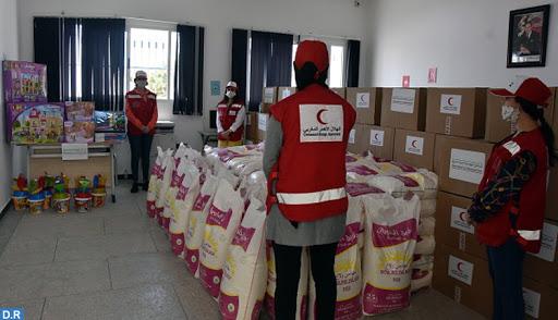 M'diq-Fnideq : Le Croissant rouge se mobilise pour aider les nécessiteux