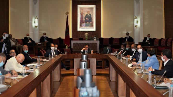 Réunion de la Commission de l'intérieur à la Chambre des représentants.