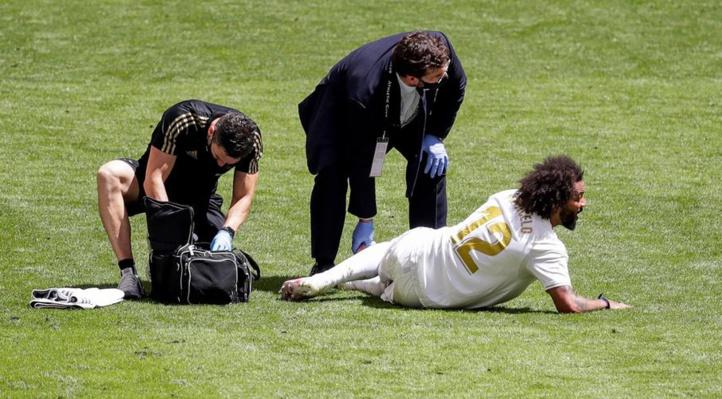 Liga : Victime d'une blessure musculaire, Marcelo indisponible trois semaines