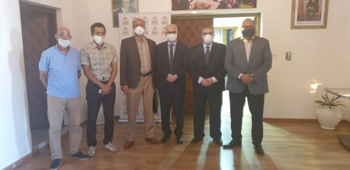 M. Nizar Baraka a reçu une délégation du Front National de Sauvegarde de la Samir