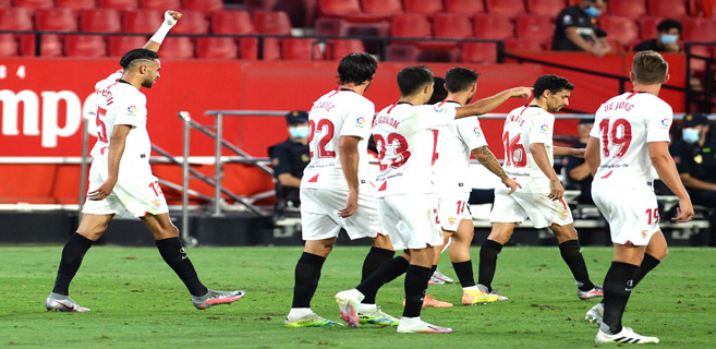 Liga : En-Nesyri buteur sur une passe décisive de Bounou