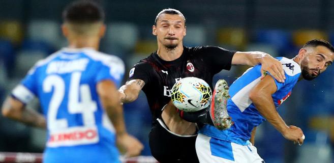 Calcio : Naples et Milan à petit pas