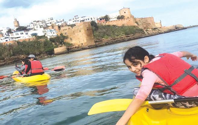 Rabat : Les canoës-kayaks sont de retour sur les rives du Bouregreg