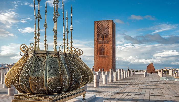 La tour Hassan, un monument emblématique de la capitale du Royaume.