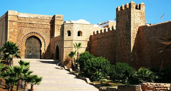 Qasbah des Oudayas : Le café Maure, sera plus beau et plus fort