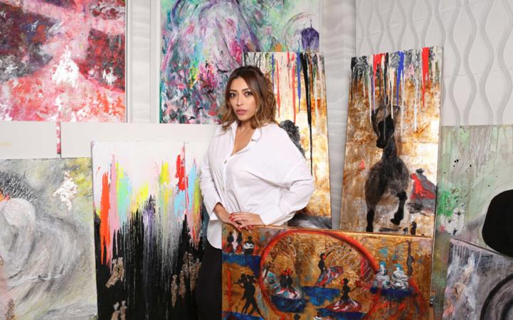 Casablanca : «#insomnia», la prochaine exposition  de l'artiste-peintre Lamiaa Menhal